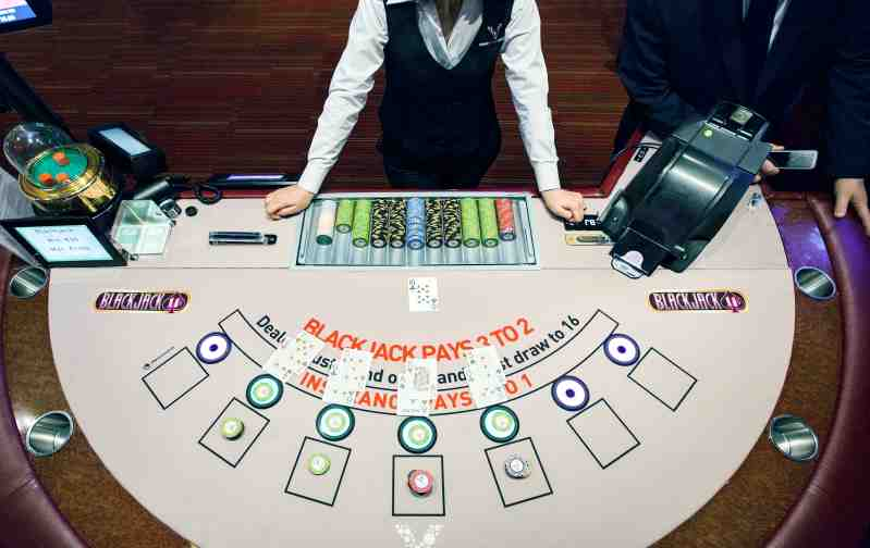 casino table games online free blackjack