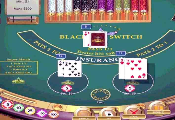 play blackjack online game